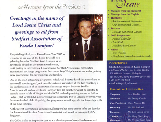 Issue 8 - April 2002