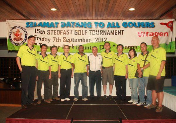 2012 – 15th Stedfast Golf Tournament