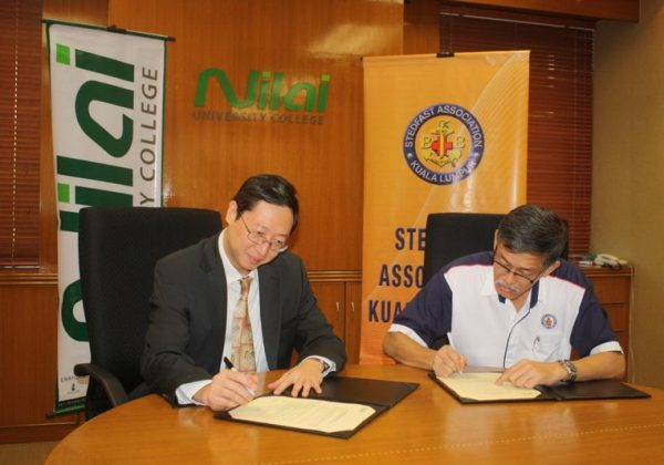 2011 – Signing Ceremony with Nilai