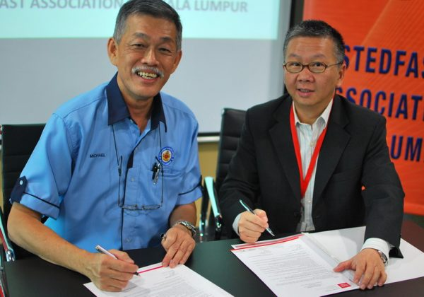 2015 - Signing Ceremony with IACT
